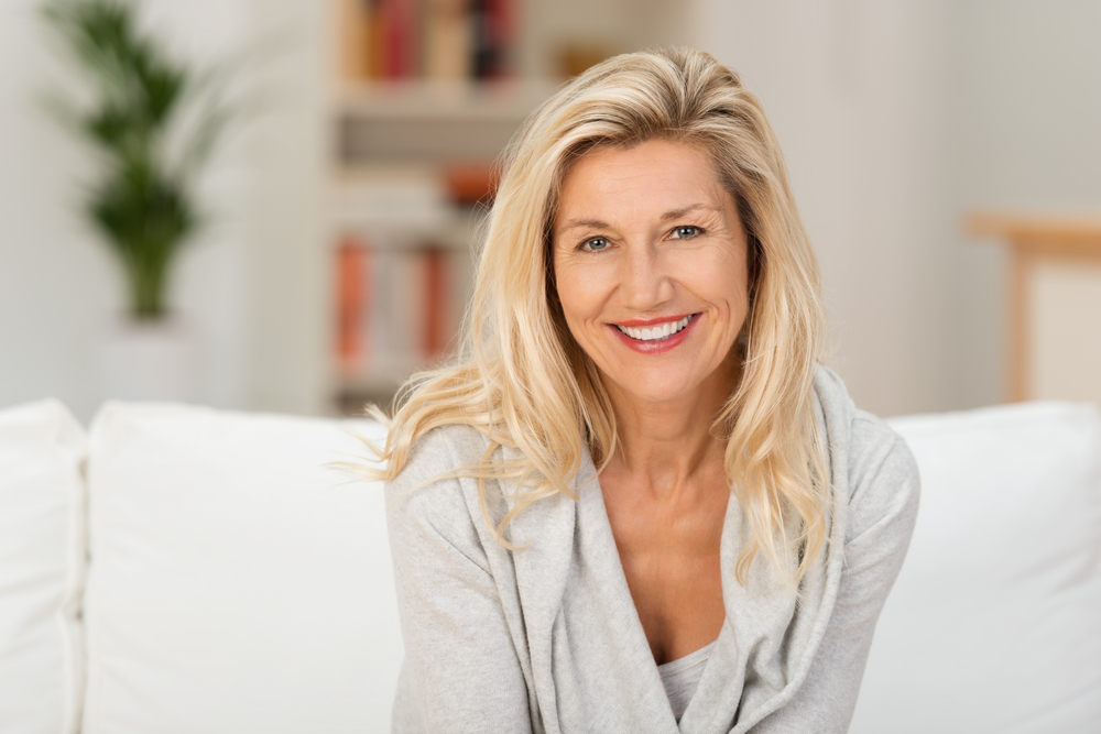 SD Cosmetic - Older Woman with Skin Rejuvenation