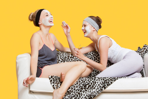 San Diego Cosmetic - Two Women Applying Makeup